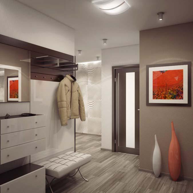 Прихожая в стиле хай-тек - интерьеры квартир, домов - myhome.