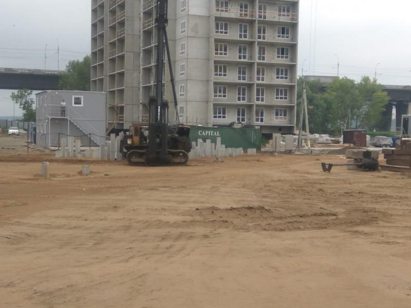 Фото строительство старого оскола нового города для